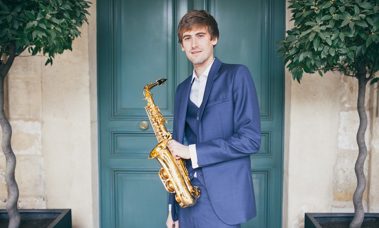 Jonathan Radford saxophone, Ashley Fripp piano