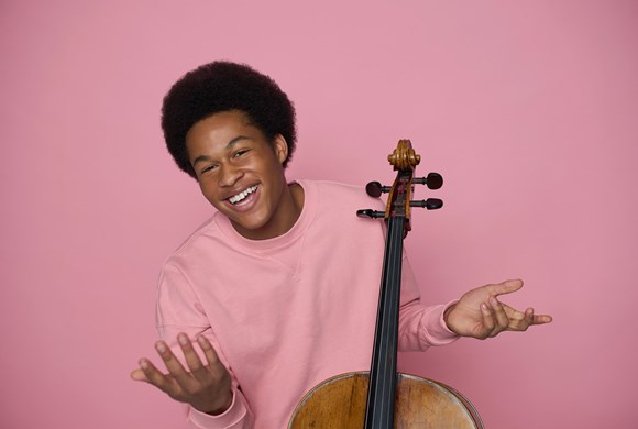On Demand: Sheku Kanneh-Mason performs Dvorák's Cello Concerto