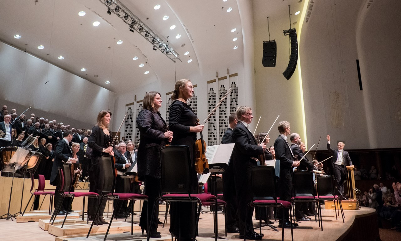 Royal Liverpool Philharmonic Orchestra one of ten ensembles competing for Gramophone Awards 2019 'Orchestra of the Year