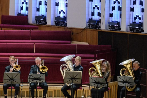 Liverpool Philharmonic Youth Company Brass Band