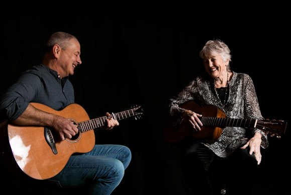 Peggy Seeger with Calum MacColl