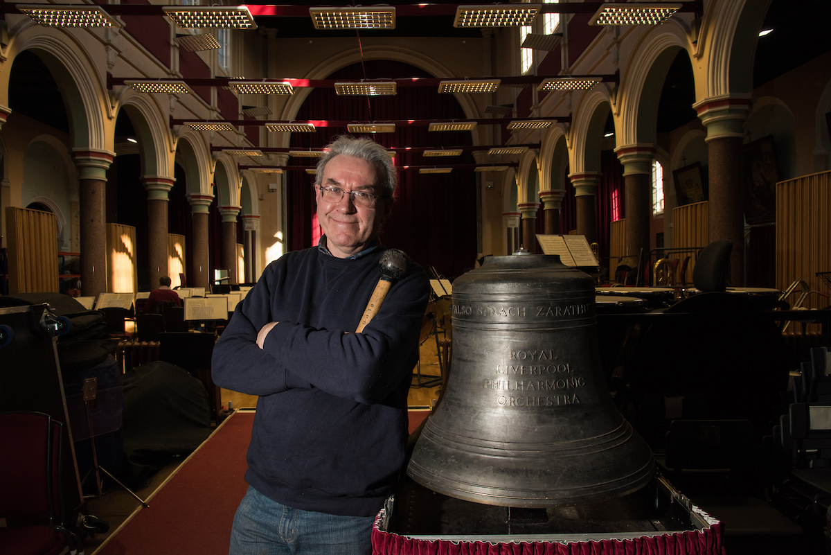 For the first time in the UK, see Mahler's symphony No. 3 performed with real church bells at Liverpool Philharmonic Hall